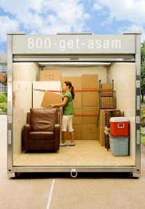 Dallas Portable Self Storage Units for Moving