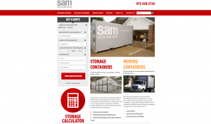 Getting to Know the SAM (Store & Move) Website